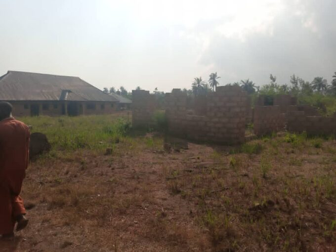 A PLOT OF LAND AT ALABAT
